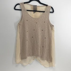 Moon Collection open back tank top